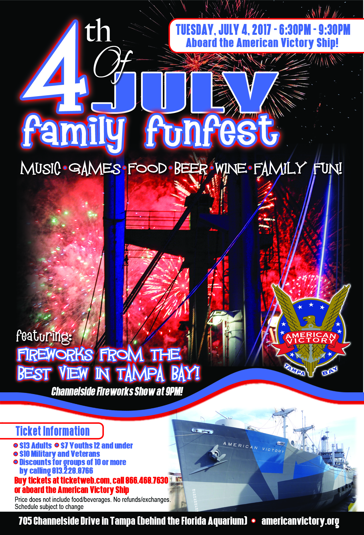 Tickets available now for the 4th of July Family FunFest!